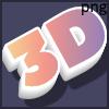 3D gradient logo