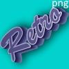 3D vintage logo