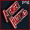 Avenger style text
